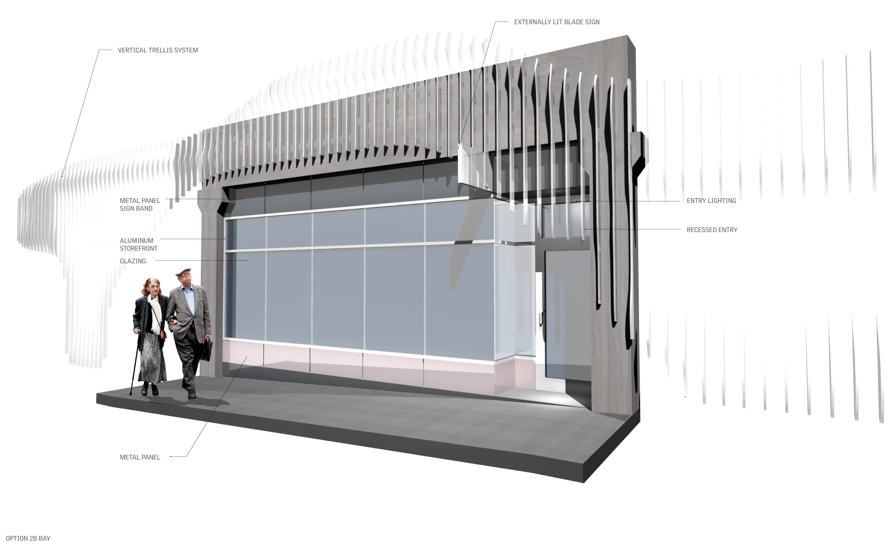 Thurlow Small » Garage Storefront Facade