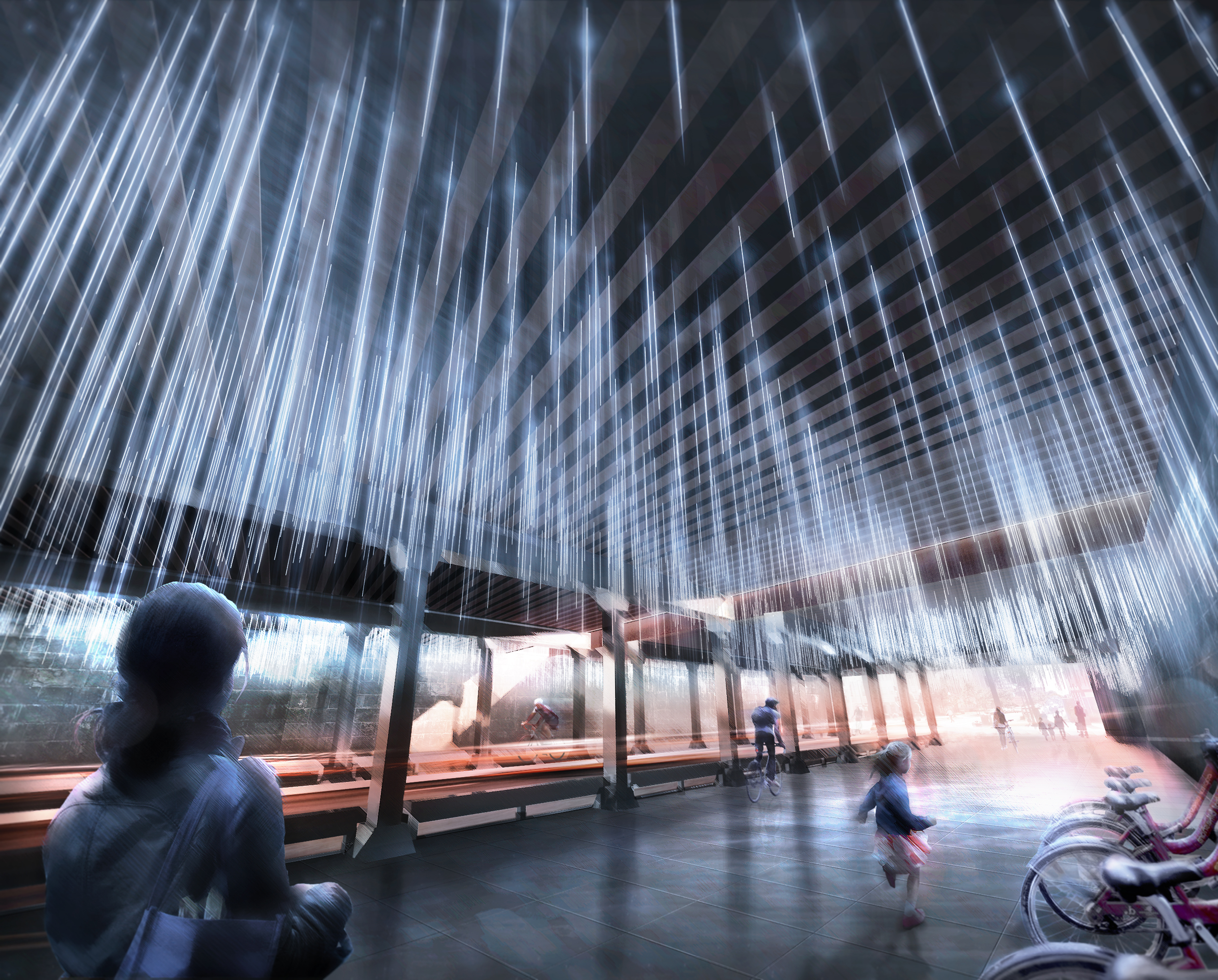 Thurlow Small 187 Noma Parks Underpass Competition Rain